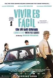 Vivir Es Fácil con los Ojos Cerrados cartel de la película