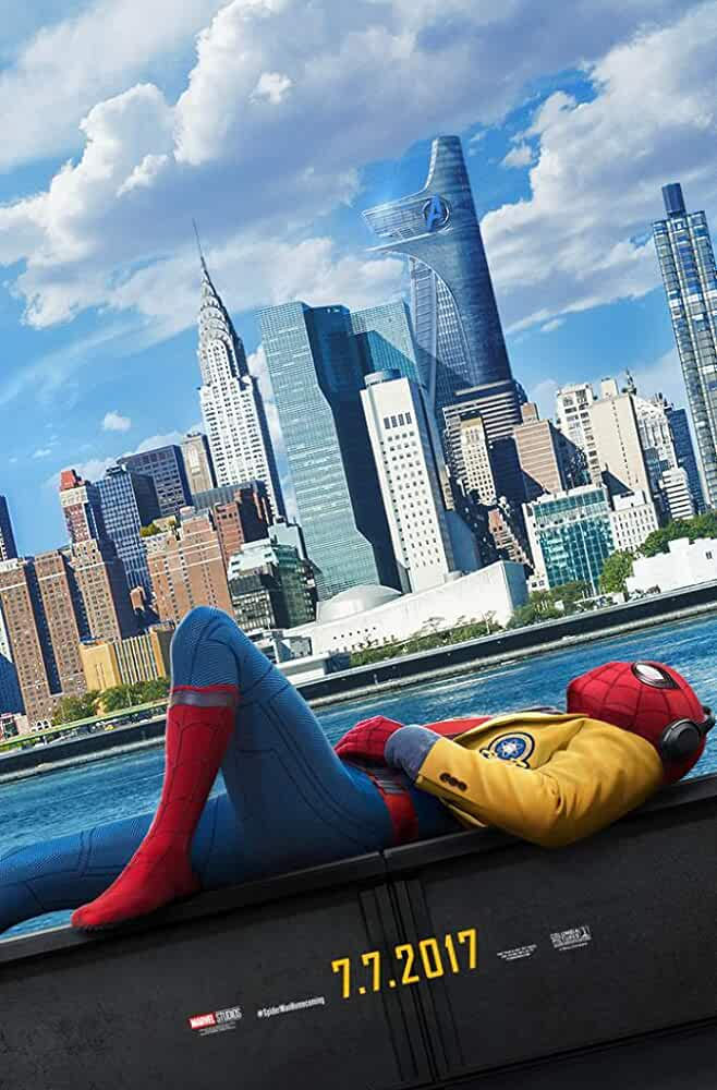 Poster Spider-Man Homecoming 2017 Full HD Movie Download Hindi Dubbed
