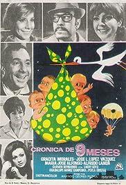 Crónica de nueve meses Poster