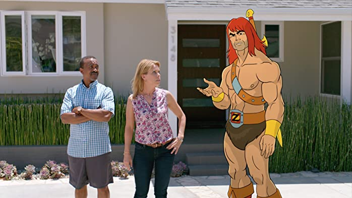 Tim Meadows, Cheryl Hines, and Jason Sudeikis in Son of Zorn (2016)