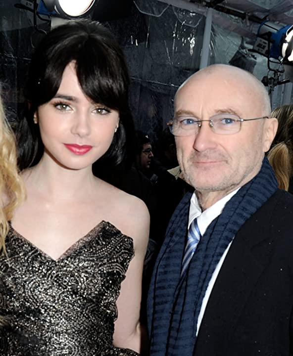 Phil Collins and Lily Collins at an event for Mirror Mirror (2012)