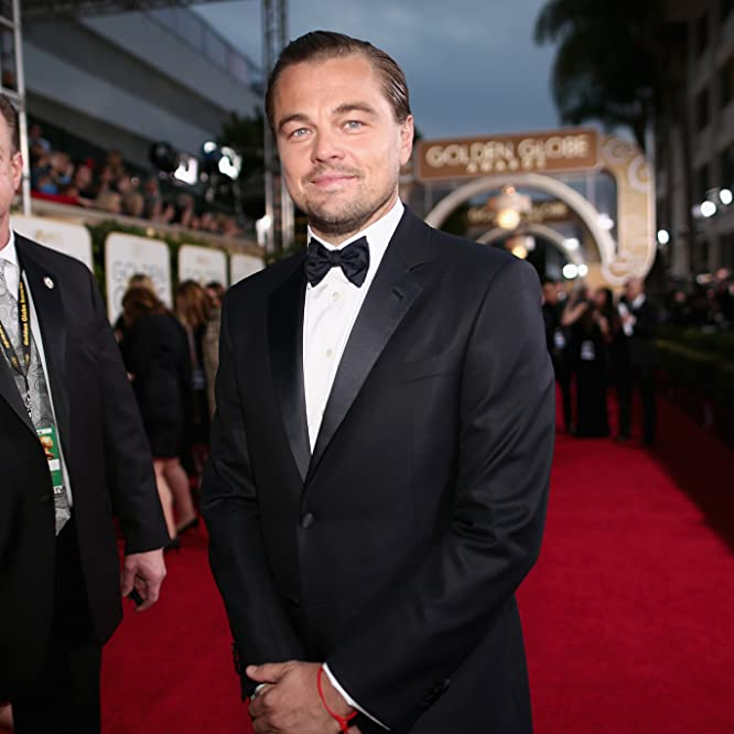 Leonardo DiCaprio at an event for 73rd Golden Globe Awards (2016)
