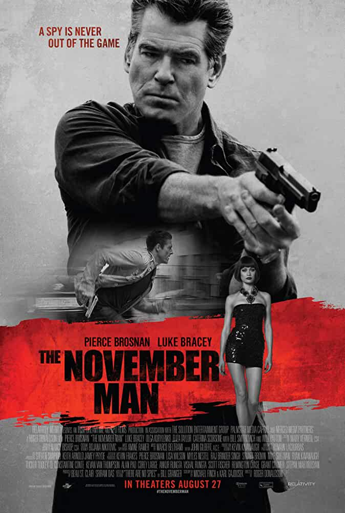 The November Man 2014 Hindi Dual Audio 480p BRRip full movie watch online freee download at movies365.org