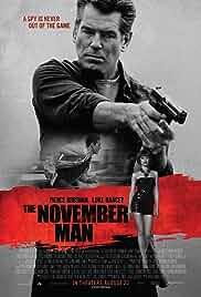 The November Man film poster