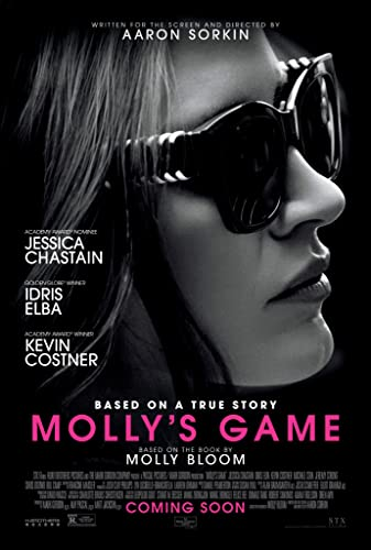 Poster Film Molly's Game