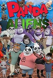 Panda vs. Aliens (2021) poster