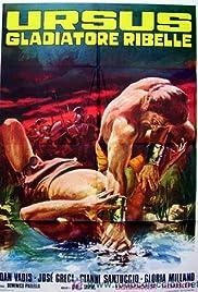 Ursus gladiatore ribelle Poster