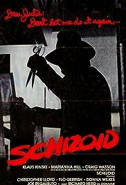 Schizoid Poster