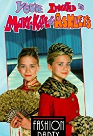 You're Invited to Mary-Kate & Ashley's Fashion Party Poster