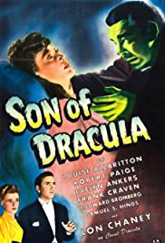 Son of Dracula (1943) Poster - Movie Forum, Cast, Reviews