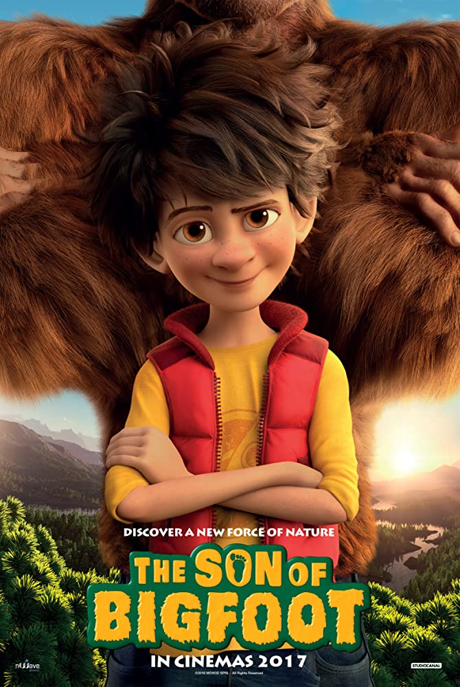 Didžiapėdžio vaikis / The Son of Bigfoot (2017)