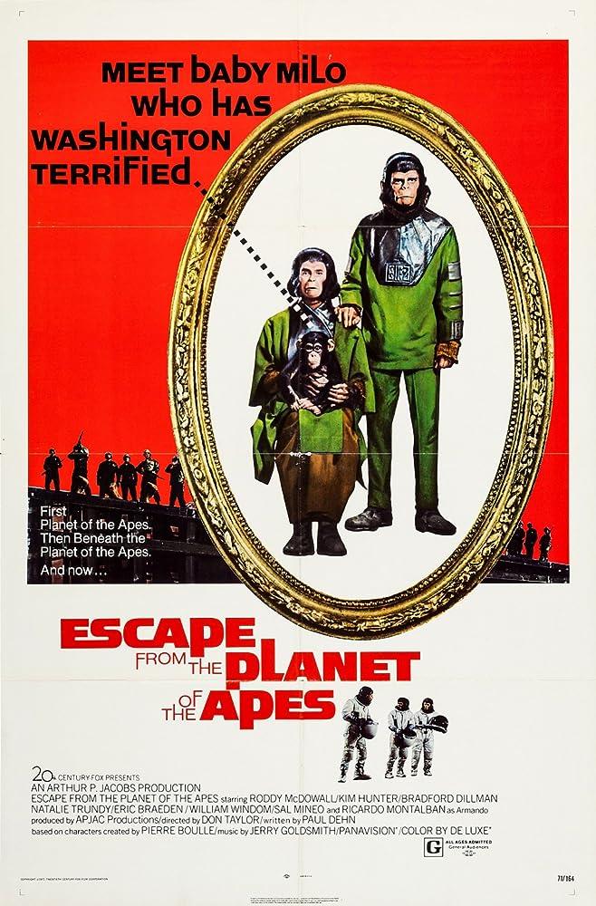 Fuga do Planeta dos Macacos Dublado – Filmes OnlineX