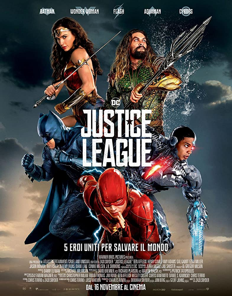 Justice League (2017) Hindi Dubbed Movie