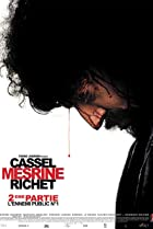 Mesrine Part 2: Public Enemy #1 (2008) Poster