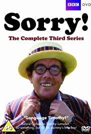 Sorry! Poster - TV Show Forum, Cast, Reviews