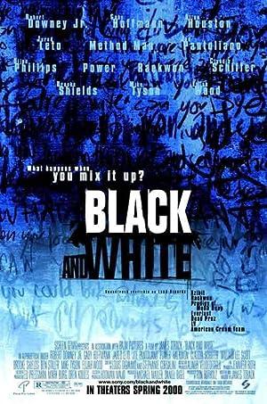 Black & White poster