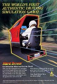 Hard Drivin' Poster