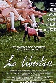 Le libertin Poster