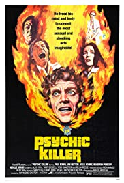 Psychic Killer (1975) Poster - Movie Forum, Cast, Reviews