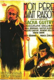 Mon père avait raison (1936) Poster - Movie Forum, Cast, Reviews