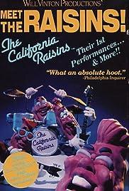 The California Raisin Show Poster