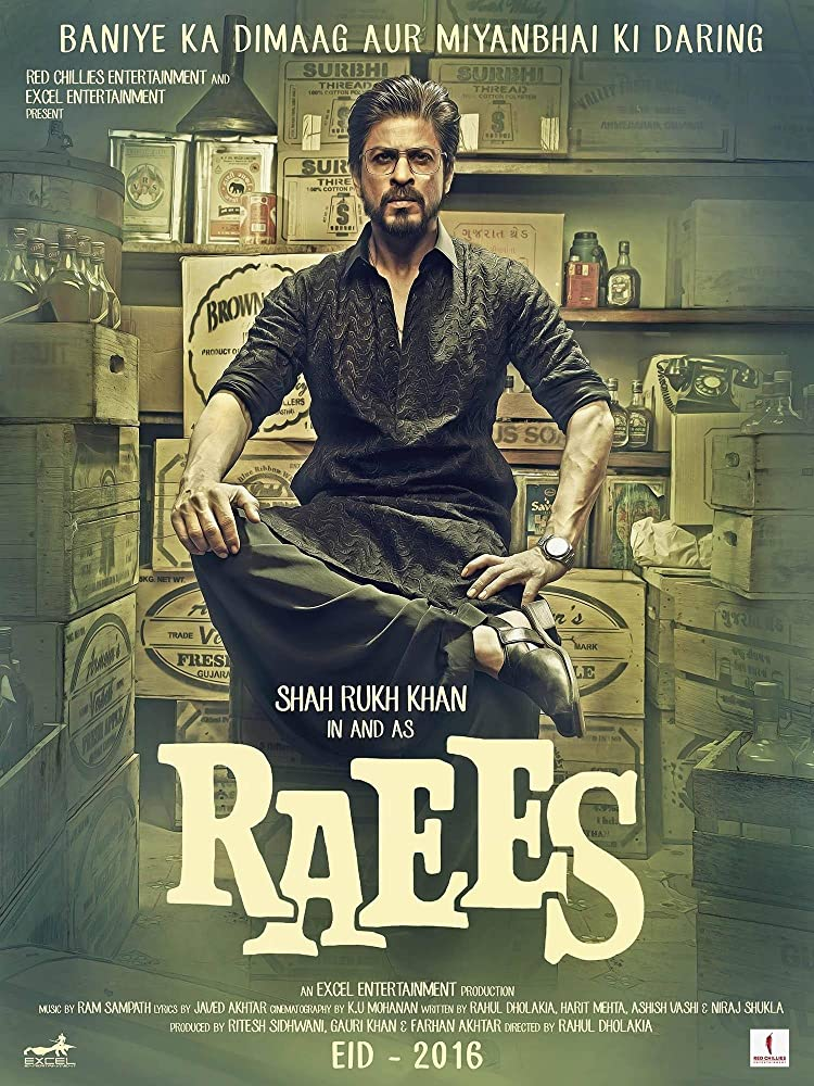 Raees (2017) Poster