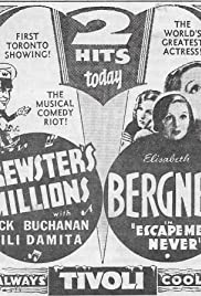 Brewster's Millions Poster