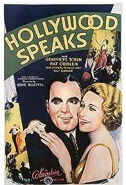Hollywood Speaks Poster