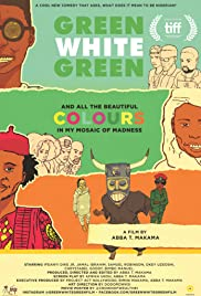 Green White Green Poster