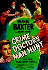 Crime Doctor's Man Hunt Poster