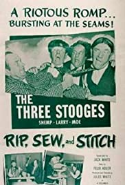 Rip, Sew and Stitch Poster