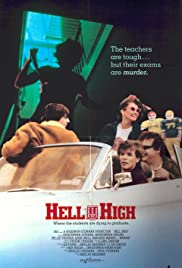 Hell High (1989) Poster - Movie Forum, Cast, Reviews