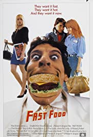 Fast Food (1989) Poster - Movie Forum, Cast, Reviews