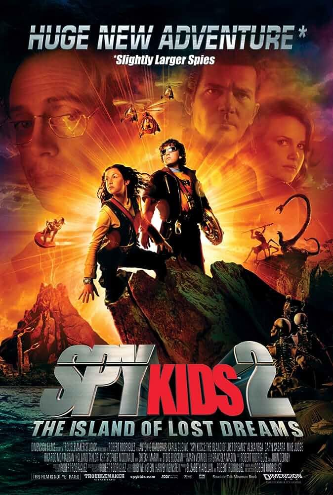 Spy Kids 2 Island of Lost Dreams 2002 Hindi Dual Audio 720p BluRay 700MB