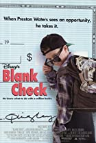 Image of Blank Check