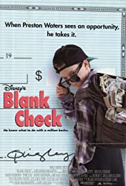 Blank Check (1994) Poster - Movie Forum, Cast, Reviews