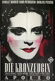 Die Kronzeugin Poster
