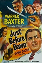 Just Before Dawn(1946) Poster - Movie Forum, Cast, Reviews