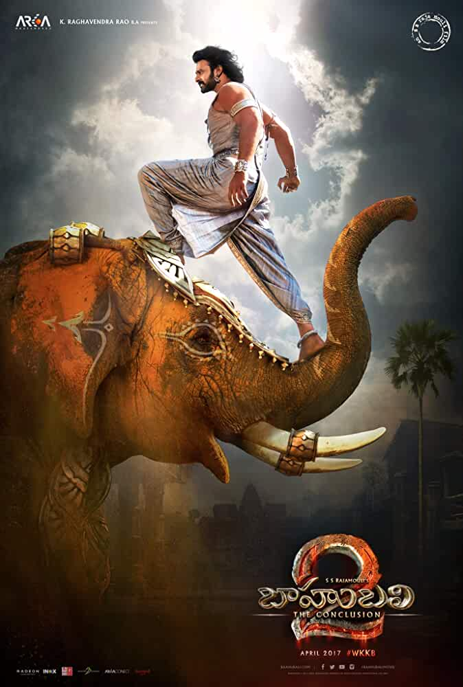 Baahubali 2: The Conclusion (2017) DVDScr Hindi Movie 200MB – HEVC Mobile