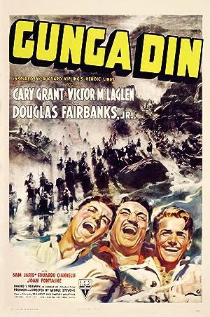 Gunga Din poster