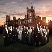 Elizabeth McGovern, Maggie Smith, Hugh Bonneville, Jim Carter, Raquel Cassidy, Brendan Coyle, Kevin Doyle, Joanne Froggatt, Phyllis Logan, Lesley Nicol, Penelope Wilton, Robert James-Collier, Michelle Dockery, Sophie McShera, Laura Carmichael, Michael Fox, and Oliver Barker in Downton Abbey (2010)