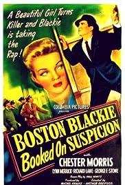 Boston Blackie Booked on Suspicion Poster
