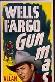 Wells Fargo Gunmaster Poster