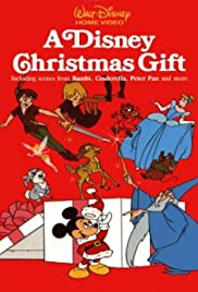 A Disney Christmas Gift Poster
