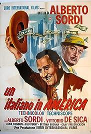 An Italian in America Poster