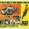 Lon Chaney Jr., Linda Darnell, Rory Calhoun, Richard Arlen, Scott Brady, and Terry Moore in Black Spurs (1965)