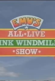 Emu's All Live Pink Windmill Show Poster