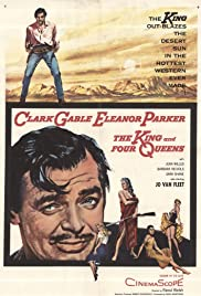 The King and Four Queens (1956) Poster - Movie Forum, Cast, Reviews