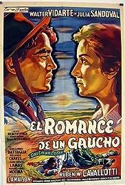 El romance de un gaucho Poster