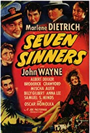 Seven Sinners (1940) Poster - Movie Forum, Cast, Reviews